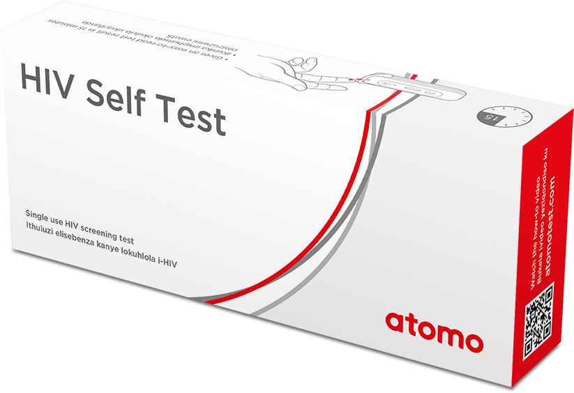 Atomo box hiv self test